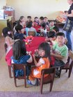 Lunch at Xuan Tho kindergarten
